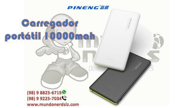 Carregador potátil Pineng Power Bank Slim 10.000 Mah em são luis ma - Foto 2