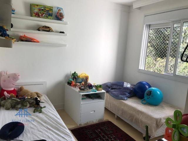 Amplo apartamento mobiliado no joão paulo com linda vista para o mar, 3 suítes, sacada e 3 - Foto 18