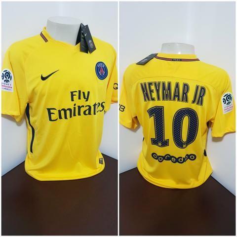 5804b89ca Camisa Nike Psg amarela  NEYMAR JR - GG - Esportes e ginástica ...