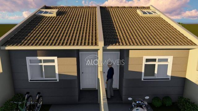 Casa com 2 dormitórios à venda, 41 m² por r$ 160.000 - campo de santana - curitiba/pr - Foto 8