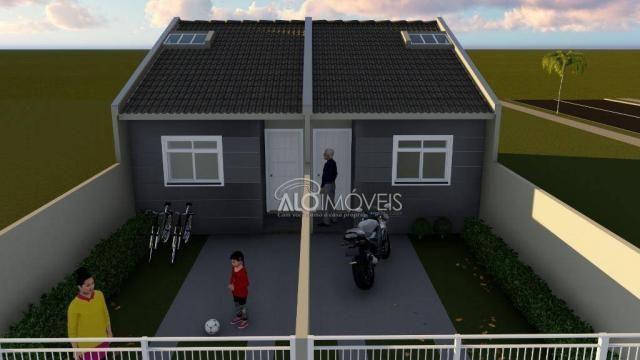 Casa com 2 dormitórios à venda, 41 m² por r$ 160.000 - campo de santana - curitiba/pr - Foto 5