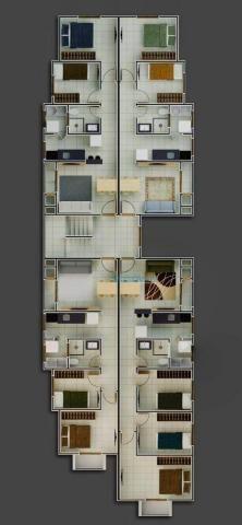 Apartamento garden à venda, 56 m² - cruzeiro - são josé dos pinhais/pr - Foto 3