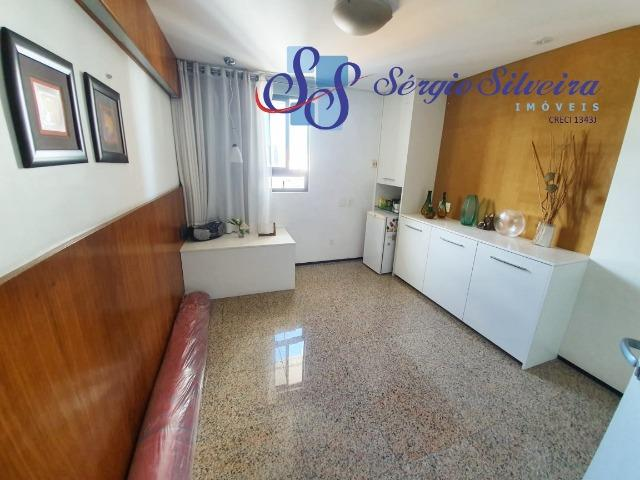 Apartamento na Aldeota com 4 suítes todas com closet, amplo e ventilado, nascente 4 vagas - Foto 16