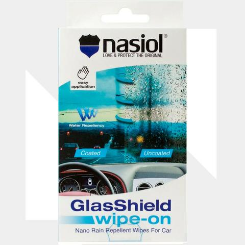 Lenço Repelente Nasiol Glasshield Wipe-on Nasiol