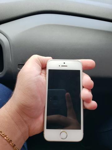 672ef841fd8 Iphone 5s 16g - com caixa - fone - manual - Celulares e telefonia ...