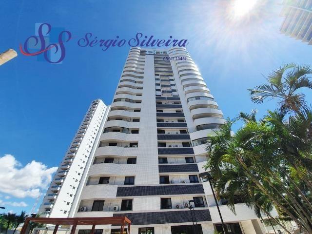 Apartamento na Aldeota com 4 suítes todas com closet, amplo e ventilado, nascente 4 vagas - Foto 19