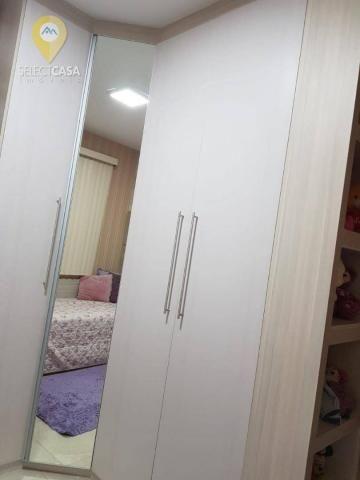 Excelente apartamento em bairro de fátima/jardim camburi 3 quartos - Foto 20