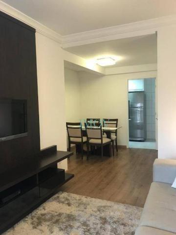 Apartamento com 2 dormitórios à venda, 62 m² por r$ 420.000 - jardim aquarius - Foto 3