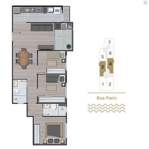 Apartamento em itaguaçu-sfs | 200 mts da praia | 01 suíte + 02 dormitórios - Foto 19
