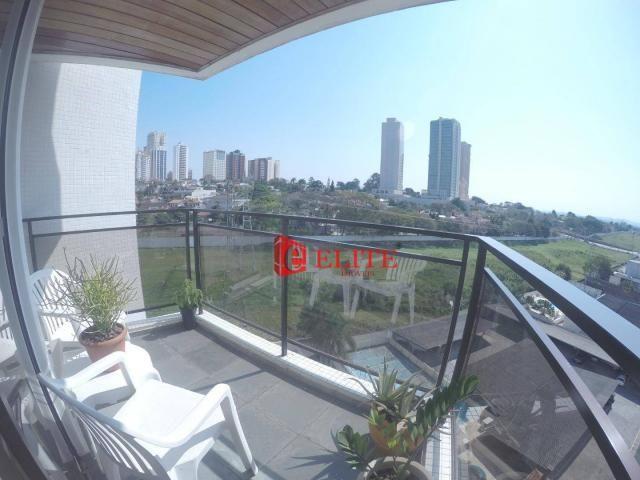 Apartamento com 3 dormitórios à venda, 105 m² por r$ 560.000,00 - jardim aquarius - são jo - Foto 2