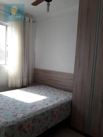 Apartamento com 2 dormitórios à venda, 48 m² por R$ 115.000,00 - São Diogo I - Serra/ES - Foto 3