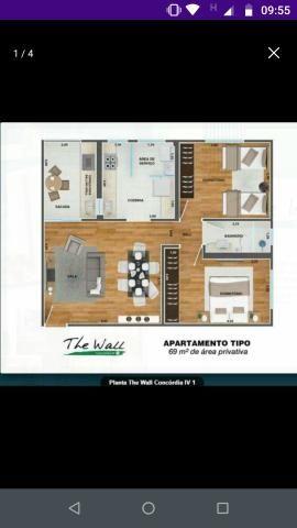 Apartamento The Wall- Concórdia IV - Foto 2