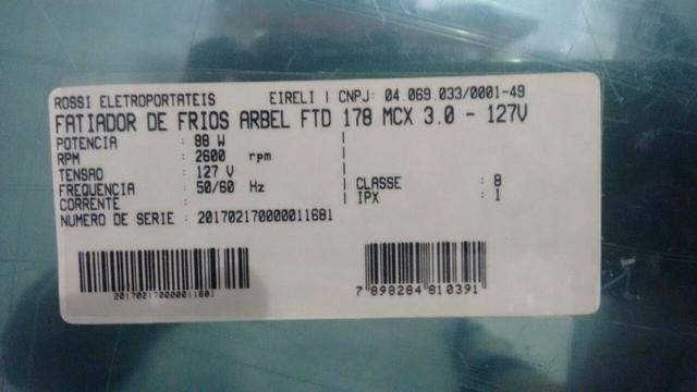 Fatiador de frios Arbel FTD 178 MCX 3.0 - Foto 5