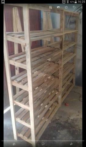 Araras em madeira - Foto 4