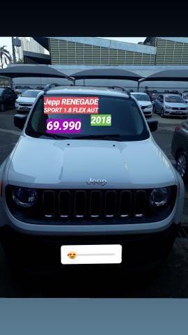 Jeep 69.990 renegade 2018 /2018 . 1.8 FLEX . AUT