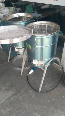 Fritadeira agua e oleo eccel 30 litros pronta entrega