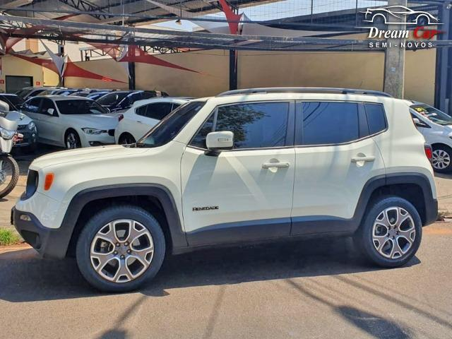 Jeep Renegade Longitude 2.0 16v turbo diesel 4x4 aut 7 air bag único dono 2016 - Foto 2