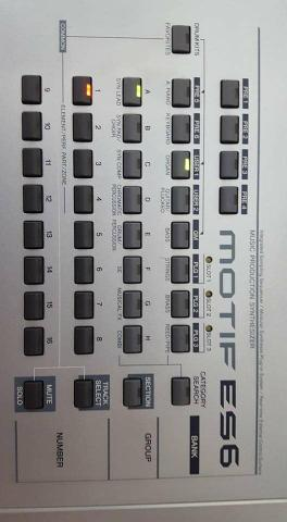 Yamaha Motif ES 6