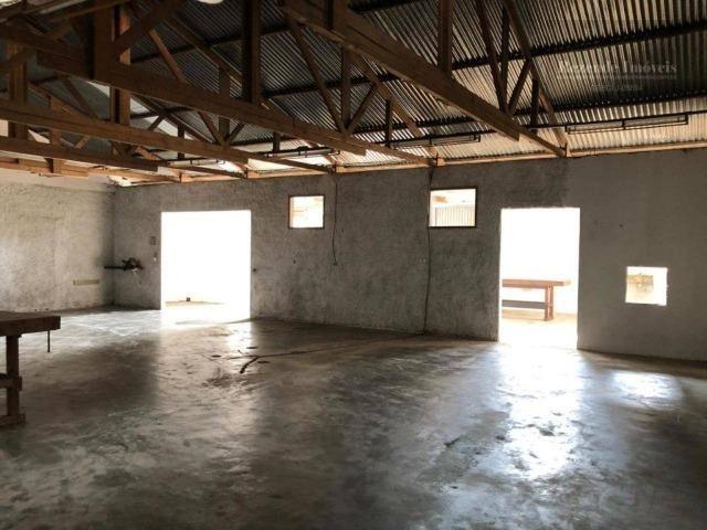 LF-BA0016 Excelente Barracão com Casa para alugar, 238 m² por R$ 3.000/mês - Foto 4