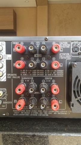 Conjunto receiver Technics Sa-Ax6 e Technics Sl-Mc7 - Foto 5