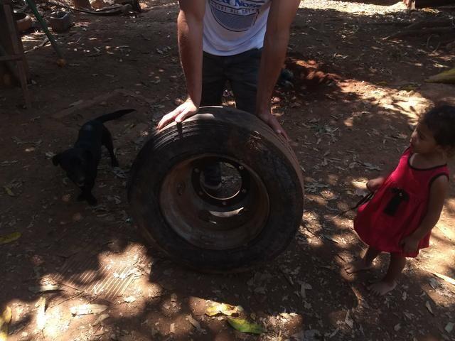 Roda de ferro 17.5