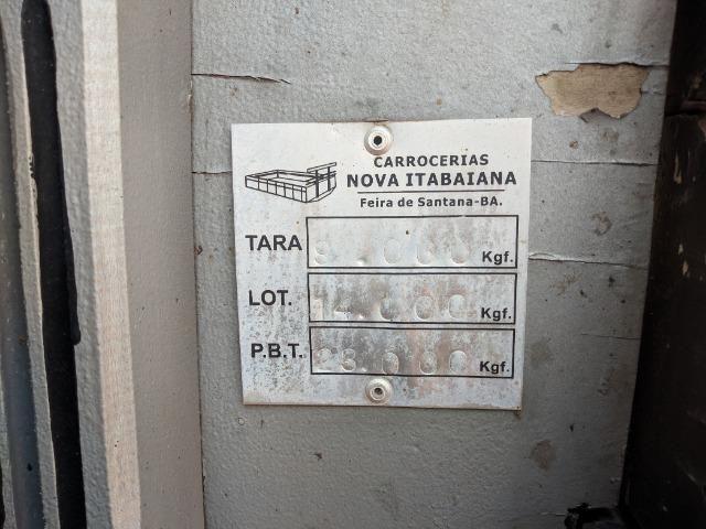 Carroceria madeira Itabaiana 8'5 mais encerado ( valor a parte) - Foto 5