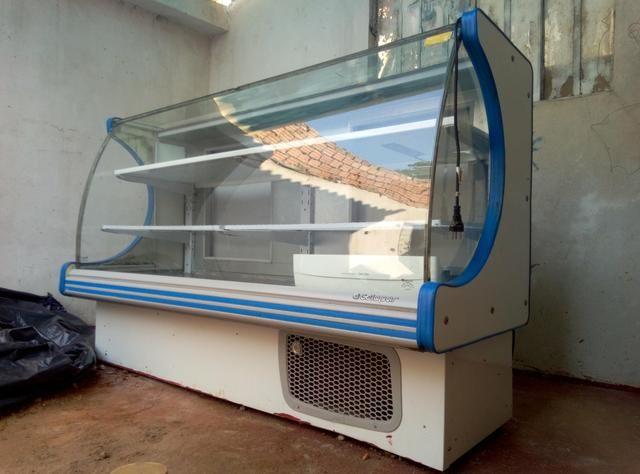 Freezer, balcão refrigerado e expositor de frutas - Foto 5