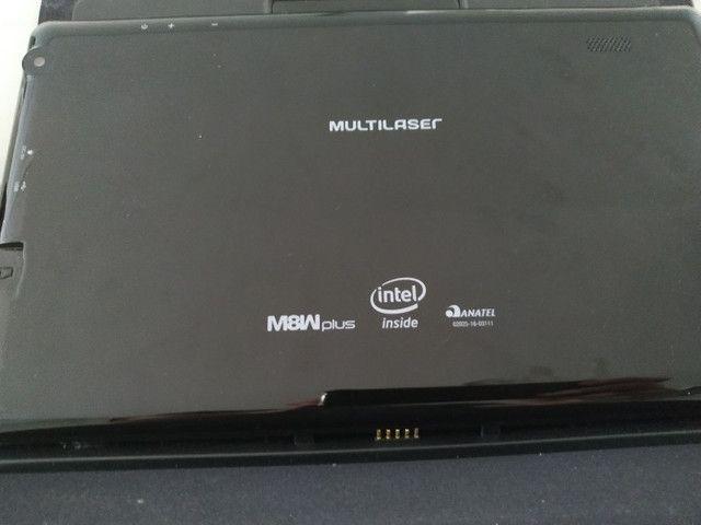 Tablet/Notebook Multilaser M8W Plus (Híbrido) - Foto 4