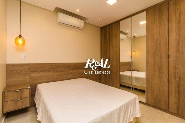 Apartamento com 1 dormitório para alugar, 53 m² por R$ 3.200,00/mês - Ponta da Praia - San - Foto 11