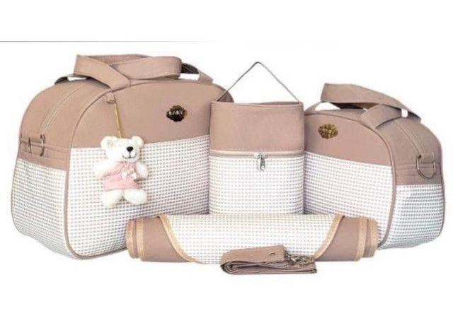 Kit bolsas Maternidade 4 peças  - Foto 4