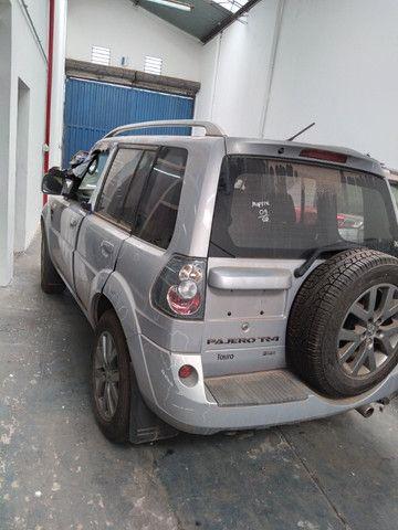 Sucata Pajero TR4 FL 2WD HP- 2012/2013