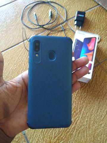 Vendo Ou Troco Samsung A20  - Foto 4