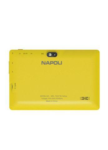 Tablet Napoli NPL-7003 TB - 2 Cameras - 4GB - 7 Polegadas - Amarelo