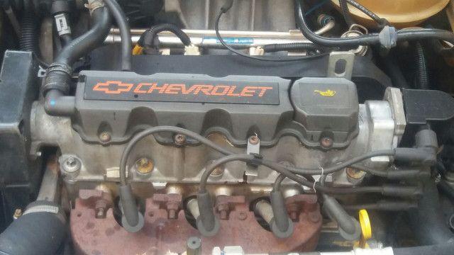 Vendo ou troco corsa classic 2005 ar condicionado é direção hidráulica - Foto 15
