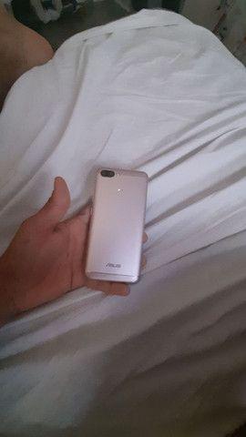 Smartphone zenfone max plus  com fone hardset inova   - Foto 3