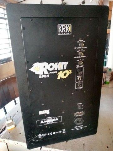Monitores de áudio Krk Rokit Ativos - Foto 4
