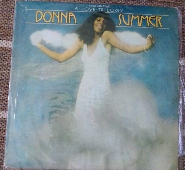 3  Discos  vinil   Donna  summer