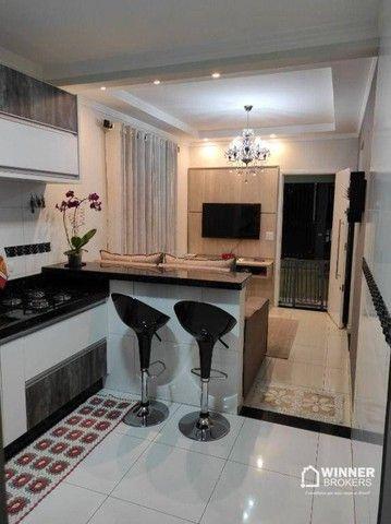Casa com 2 dormitórios à venda, 99 m² por R$ 380.000,00 - Jardim Tupinambá - Maringá/PR - Foto 2
