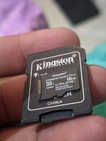 Cartão de memória 16Gb class 10 - Foto 2