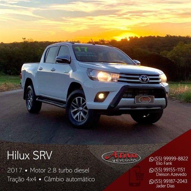 Toyota - Hilux SRV 4x4 2.8 Diesel Aut. - 2017 - Foto 4