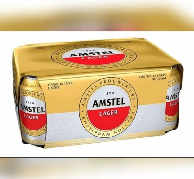 Cerveja Amstel Langer Lata 350ml - Foto 4