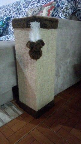 Cantoneira sofá com tela dupla, bordas chocolate - Foto 3