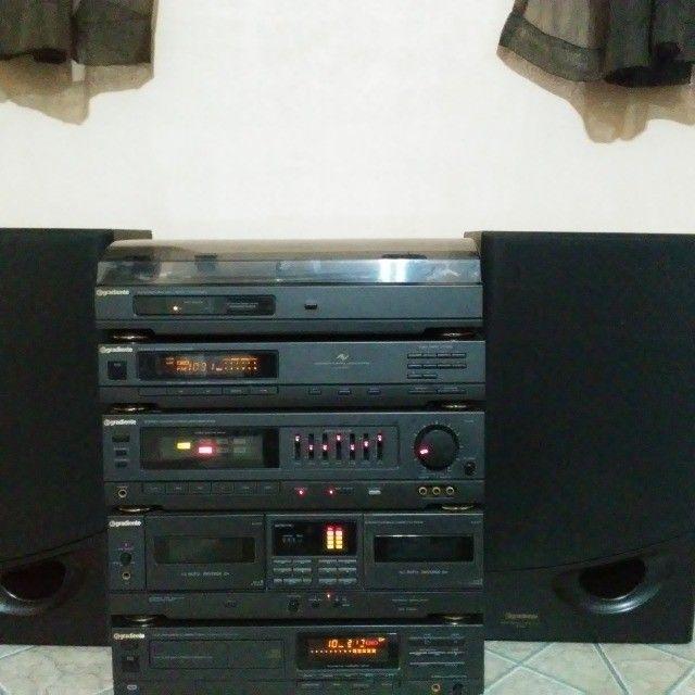 Raro System Gradiente DS 800 Em Ótimo Estado - Foto 5