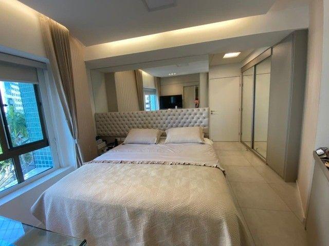 Edf Via Tazolli Setubal/129m/3 suites/capa de revista/luxo/3 vagas/lazer. - Foto 12