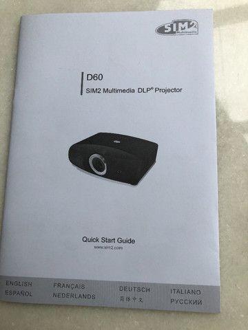 Projetor SIM2 D60 - Foto 4