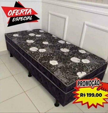 CAMA BOX CASAL LOJA DA FÁBRICA $225 - Foto 2