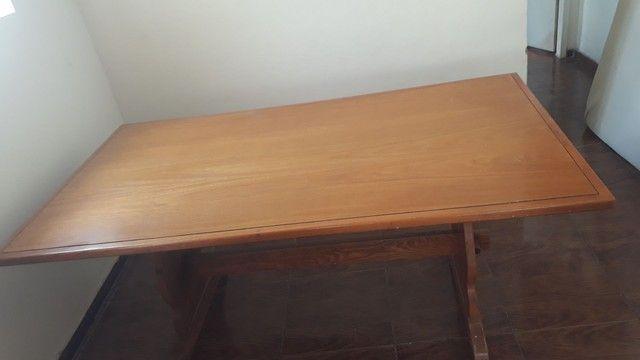Mesa madeira maciça super nova! - Foto 6