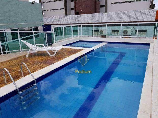 Apartamento no Ecomarine Residence, com área de Lazer Completa a 270m² da praia de Camboin