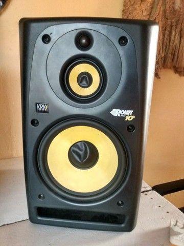 Monitores de áudio Krk Rokit Ativos - Foto 2