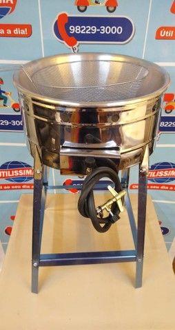 Fritadeira 7L a gás - Entrega grátis - Foto 2